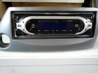 SONY CD PLAYER WITH FORD KA ADAPTOR PLATE