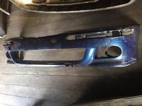 BMW E39 M SPORT FRONT BUMPER SKIN (damaged needs repair)