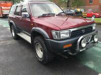 Toyota hilux surf 2.4 Tdssr-G ideal for expoort shogun land cruiser Navara£1695