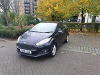 2014 Ford Fiesta Ecoboost 999cc Manual Petrol Black 66K Mileage 3 Door £0 road tax Service for sale