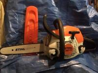 STIHL MS171 CHAINSAW .. MINT CONDITION ..£135 !! GREAT FOR FIREWOOD WOODBURNER ..XMAS PRESENT 🎁