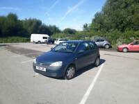 Very reliable corsa 1.2 Vauxhall corsa comfort. Brand new 12 months mot