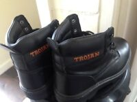 Trojan safety boots brand new