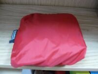 Waterproof luggage cover, size adjustable