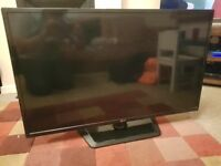 42 inch LG LED tv, three years old from new