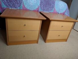 Two excellent bedside tables - £15 each (£30 for both)