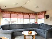 Spacious Family Caravan For Sale At Sandylands Ayrshire On The Beach :) Open All Year Scotland