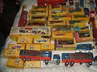 wanted dinky toys 1950s/1960s boxed unboxed any condition