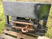 BOUGHTON hydraulic vh6 winch great for timber forward tractor