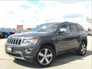 2016 Jeep Grand Cherokee LIMITED**LEATHER**NAV**SUNROOF**BACK UP
