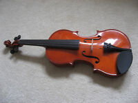 Violin and accessories (excellent condition)