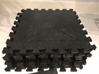 Bodymax Rubber Interlocking Floor Mats