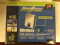 Linksys Wireless - 6 ADSL Gateway with Speed Booster