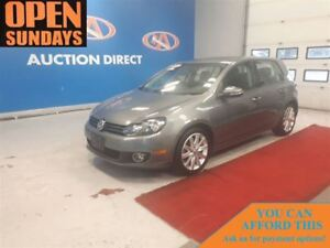2013 Volkswagen Golf 2.5L HIGHLINE! LEATHER! SUNROOF! FINANCE NO
