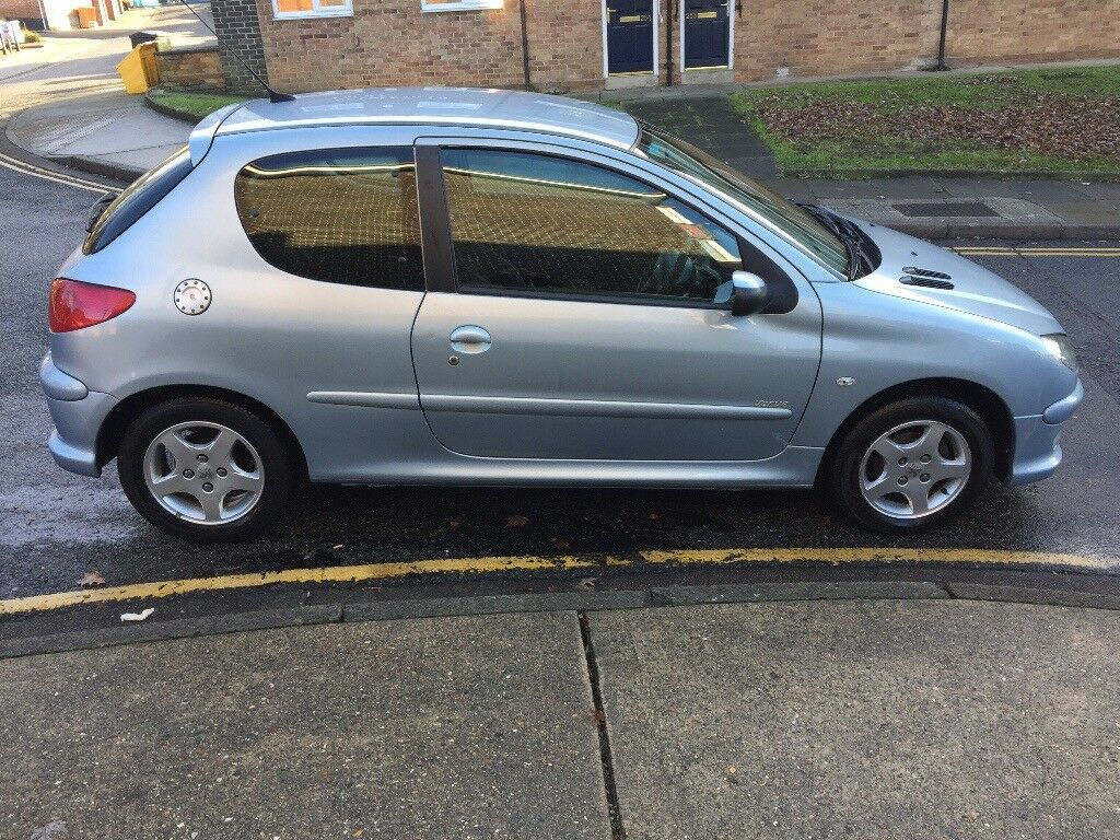 2006 peugeot 206 3 door hatchback 1 4 patrol in ipswich suffolk gumtree. Black Bedroom Furniture Sets. Home Design Ideas