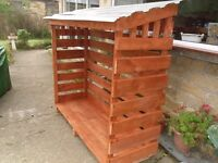 Large Wood/Log Store - New Built - FREE Delivery