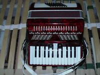 Accordion - Studio - 48 Bass Red/Black - please make offers if interested