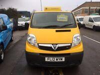 vauxhall vivaro van 2.0cdti 2012 138000 miles 3 month warranty £3999 plus vat