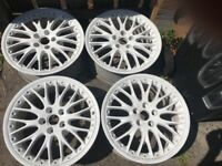 "18"" Audi Speedline Alloy Wheels 5x112"