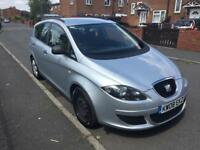 SEAT ALTEA 1.6 REFERENCE 5 DOOR MOT MARCH 2019 STARTS AND DRIVES GREAT FAMILY CAR