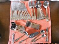 CUTLERY SET 54 PIECE with 18 Carat Gold Trimming