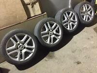 "17"" 5x120pcd Alloy Wheels - VW T5/Vivaro/Trafic"