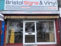 High Street Sign & Printing Business for Sale - BRISTOL