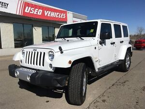 2014 Jeep Wrangler Sahara | Navigation | Bluetooth | Leather