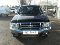 DIESEL !! 2006 FORD RANGER 2.5 THUNDER D/C 1D 107 BHP **** GUARANTEED FINANCE **** PART EX WELCOME