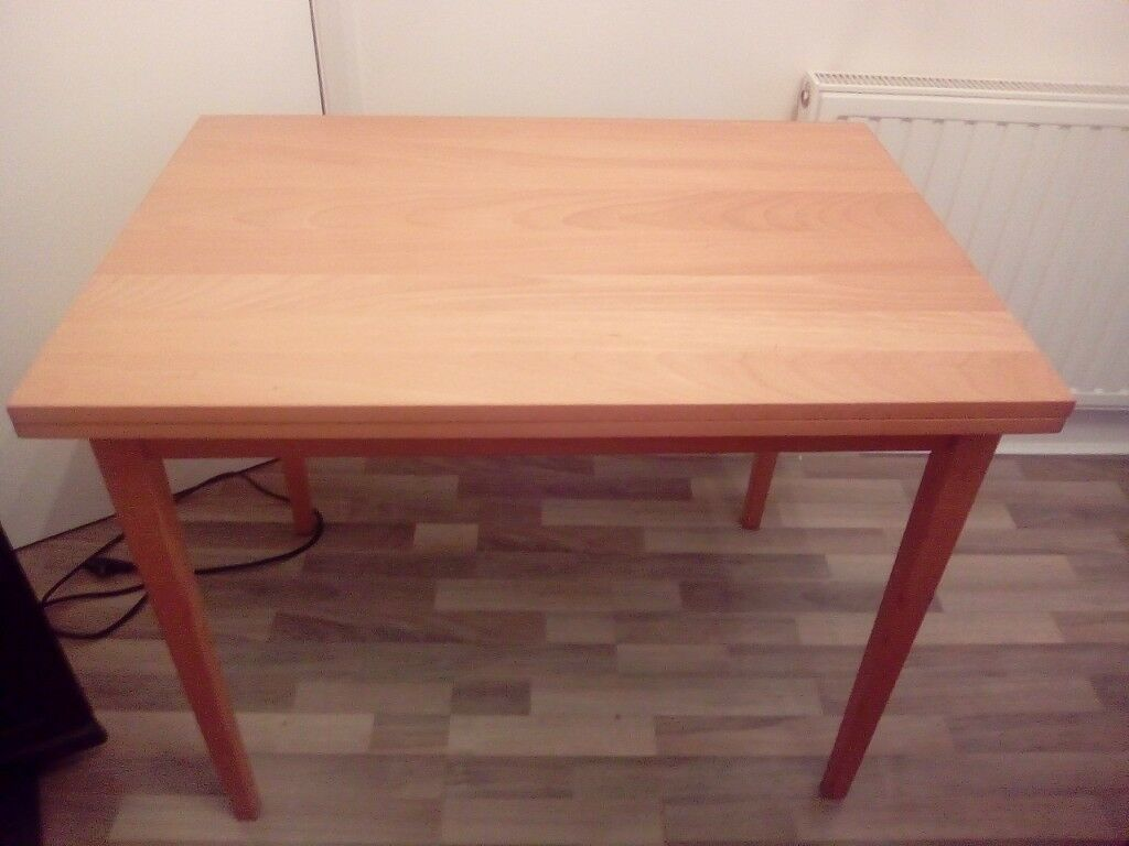 Ikea Jussi Extendable Dining Table 62cm X 90 Cm