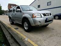 Nissan Navara 2.5 Diesel - 82,000 mile only - Eco Top and Drives Great - 4x4