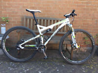 Whyte M109 Mens Full Suspension Mountain Bike with XTR Components
