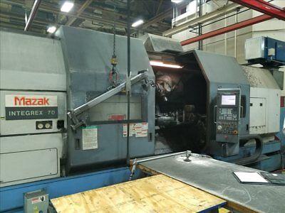 Mazak Integrex 702000 Cnc Milling Turning Center B38159