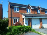 Porthcawl Modern 3 Bedroom House to Let quiet cul de sac location