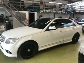 MERCEDES C 220 CDI SPORT, AUTOMATIC, TOP SPEC, 2007, 83346 FULL SERVICE HISTORY, 12 MONTH MOT
