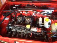 Vauxhall Nova corsa Weber twin 40s dcoe 40 irmscher carbs
