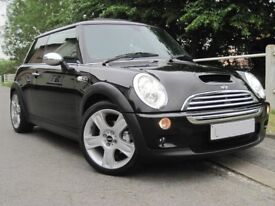 Mini Cooper S 05 66k – Heated Leathers, P-Roof, Sat Nav, Harmon Kardon, Xenon, Not JCW **TOP SPEC**