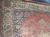 Very large antique carpet/ rug