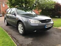 'SPARES OR REPAIR' 2003 FORD MONDEO GRAPHITE 1.8 DURATEC 5DR. MANUAL - ONLY 51k MILES