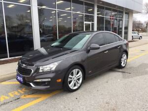2015 Chevrolet Cruze 2LT RS Package Sunroof Leather
