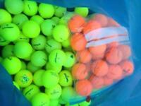 Coloured golf balls