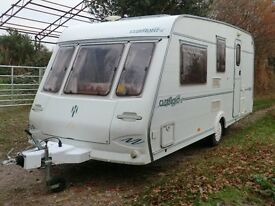 Herald Clermont 490/4 berth touring caravan 2000 in great condition