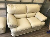 Settee & foot stool can deliver