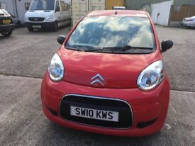 Citroen c1 1.0 red mot until 27/8/18 one owner from new full service history