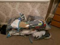Huge bundle of baby boys clothing from small baby through to 12-18m