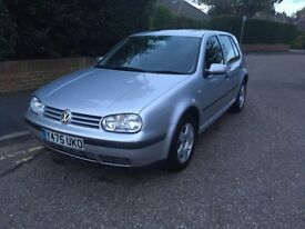 VW Golf MK4. New MOT. Low mileage.