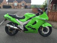 Kawasaki Zzr 1100 D3 (May Px swap for MR2)