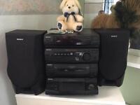 Sony XB3 stereo hifi system 5CD, (not technics, awia, Phillips, kenwood, pioneer)