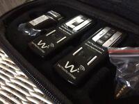 Wi Digital Audiolink Pro Wireless System In ear Monitor system