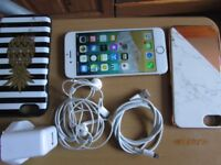 Apple Iphone6 16GB Gold Vodafone lebara talktalk smartphone excellent condition wit touch ID